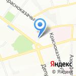 Лидер Сити на карте Иркутска