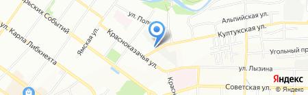 Автогаражный кооператив №13 на карте Иркутска