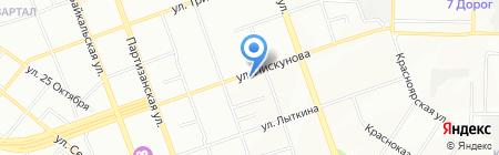 Шарм-Эль на карте Иркутска