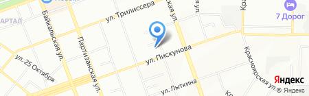 Яблоко на карте Иркутска