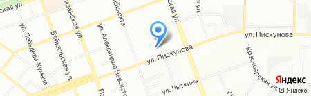 ИмпериалТур на карте Иркутска