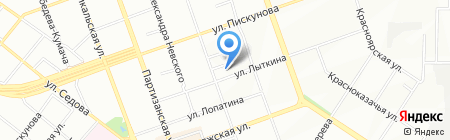 Сервисная компания на карте Иркутска