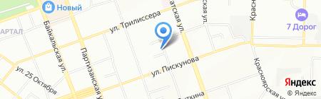 Зоомаркет на карте Иркутска