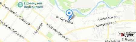 Бочка на карте Иркутска