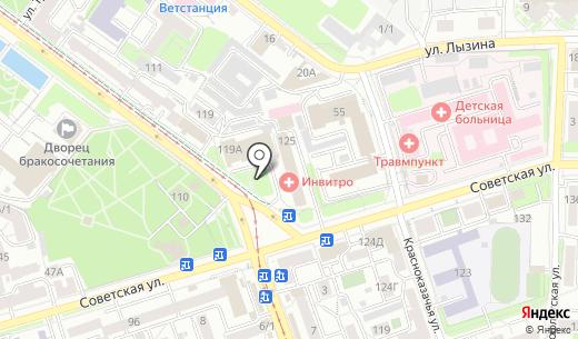 АВЕНТУРА. Схема проезда в Иркутске