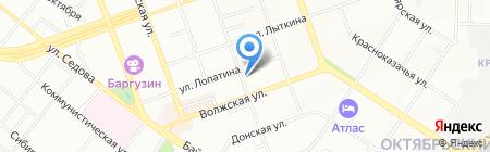 Стайл на карте Иркутска
