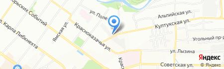 911 на карте Иркутска