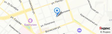 Детский сад №63 на карте Иркутска