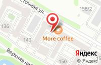 Схема проезда до компании Мит-Маркет в Иркутске