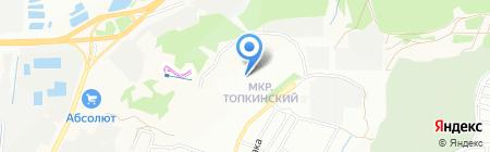 Детский сад №156 на карте Иркутска