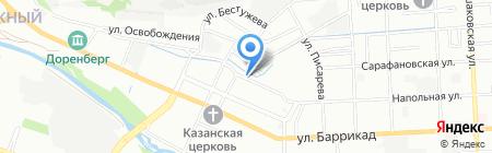 Мебельландия на карте Иркутска