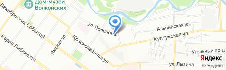 Областной учебно-методический центр на карте Иркутска