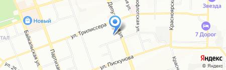 АЮ-ТехнологиИ на карте Иркутска