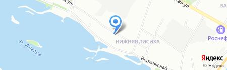 К Чаю на карте Иркутска