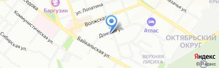 Я САМ на карте Иркутска