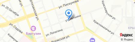 SPAR на карте Иркутска