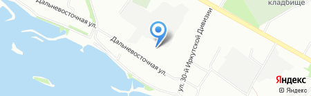 ИЗЭМИ на карте Иркутска