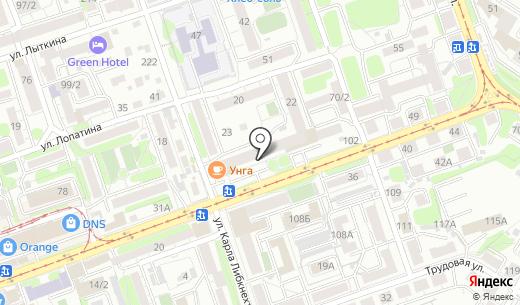 ЕвроСтиль. Схема проезда в Иркутске