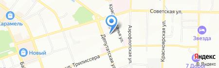 СОЛЬ38 на карте Иркутска