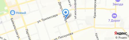Наш дом на карте Иркутска
