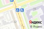 Схема проезда до компании Qiwi в Иркутске
