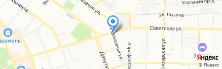 Дом Нуга Бест на карте Иркутска