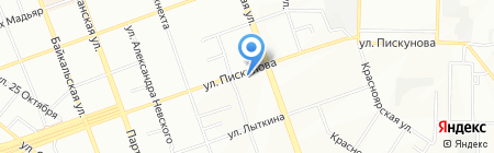 Сибтелеком на карте Иркутска