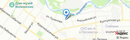 Клуб Дзендо на карте Иркутска