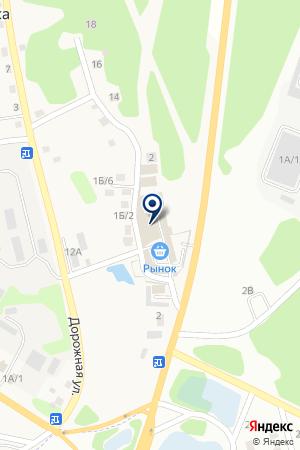 Артко на карте Иркутска