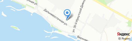 Леди Бухгалтерия на карте Иркутска