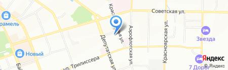 Елена Белова на карте Иркутска