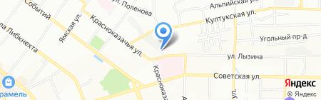 Смартера на карте Иркутска