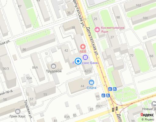 Товарищество собственников жилья «Горизонт 42» на карте Иркутска