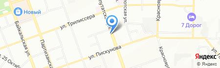 ГлавПереезд.РФ на карте Иркутска