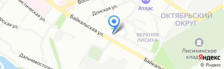 Телекомсервис на карте Иркутска