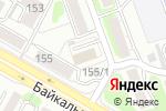 Схема проезда до компании Городская Курьерская Служба в Иркутске