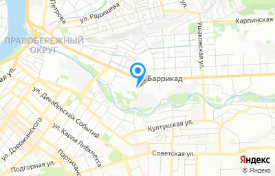 Местоположение на карте пункта техосмотра по адресу г Иркутск, ул Баррикад, д 42