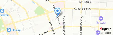 Пожарно-спасательный центр на карте Иркутска