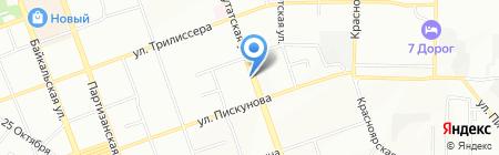 Одежда бельЁ на карте Иркутска
