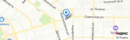 СибПромСнаб на карте Иркутска