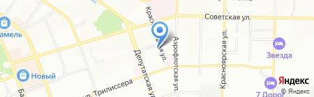 Студия Елены Шеиной на карте Иркутска