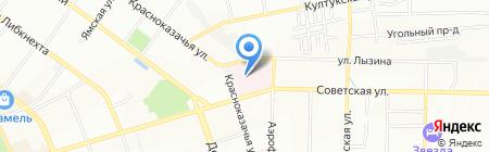 Ивано-Матренинская детская клиническая больница на карте Иркутска