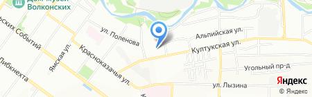 В шоколаде на карте Иркутска