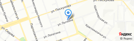 Пекинская утка на карте Иркутска