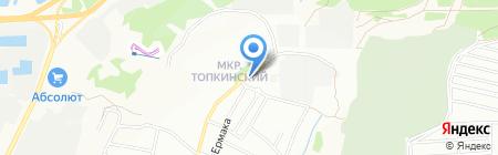 Шиномонтажная мастерская на ул. Шевцова на карте Иркутска