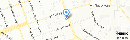 Детский сад №54 на карте Иркутска