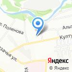 Аванс на карте Иркутска