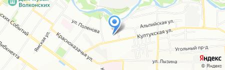 Глобус Медикал на карте Иркутска