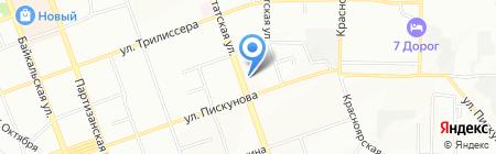 ДорХан 21 век-Иркутск на карте Иркутска