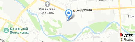 Актив-Строй на карте Иркутска